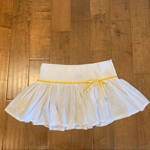 MANGO WHITE MINI SKIRT